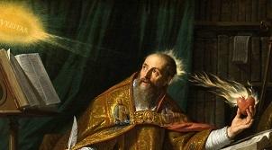 Augustinus-Darstellung des Philippe de Champaigne