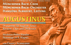 CD Augustinus Oratorium Enjott Schneider Cover 302