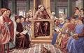 Augustinus lehrt in Rom NL