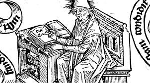 Augustinus Holzschnitt