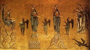 Die Versuchungen Christi in der Wüste